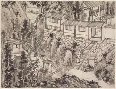 Twelve Views of Tiger Hill, Suchou: The Pine Retreat