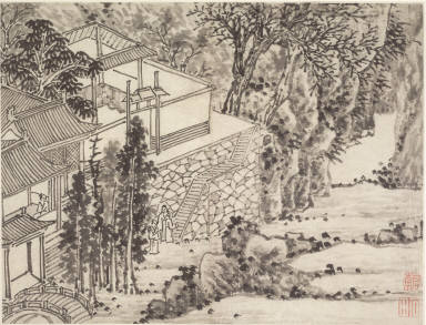 Twelve Views of Tiger Hill, Suchou: The Enlightened Stone Retreat