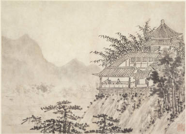 Twelve Views of Tiger Hill, Suchou: The Thousand Acres of Clouds
