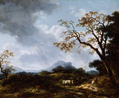 Landscape with Passing Shower