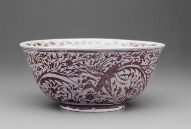Luster Painted Bowl