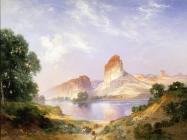 An Indian Paradise (Green River, Wyoming)