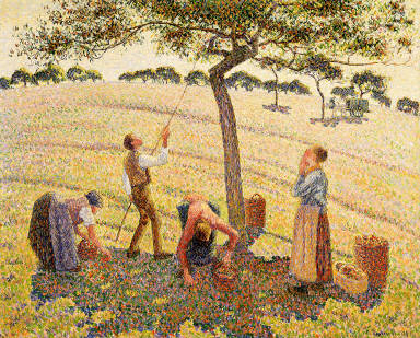 Apple Picking at Eragny-sur-Epte