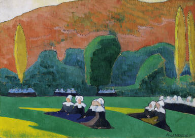 Breton Women at Prayer