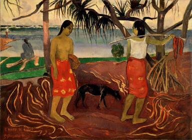 I Raro Te Oviri (Under the Pandanus)