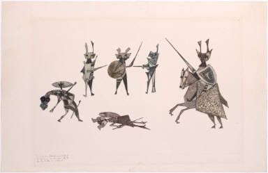 Luchas Medivevales (Medieval Combats)