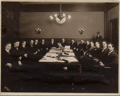Mayor Martin Behrman and councilmen