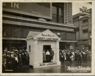 Liberty Loan Bank and Maison Blanche buildings
