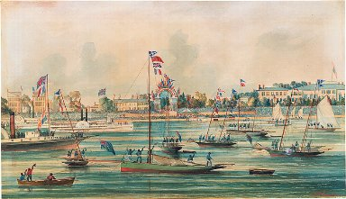 Arrival of the Prince of Wales at Toronto, September 1860