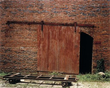 Cotton Warehouse Door with Cart--Selma, Alabama