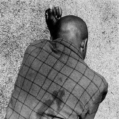 Man Sleeping, Joubert Park, Johannesburg, April 1975