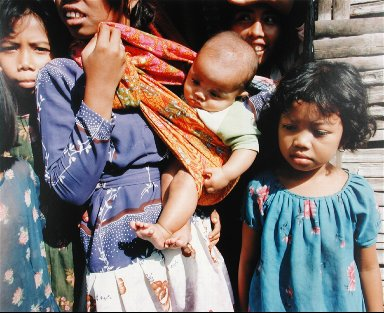 Girls with a Baby, Surabaya, from the portfolio Map of the East