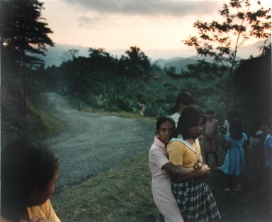 Girls Beside the Garut-Tasikmalaya Road, West Java, from the portfolio Map of the East