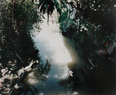 A canal in Thonburi, Bangkok, from the portfolio Map of the East