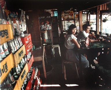 In a Cafe Beside the Chao Phaya, Bangkok, from the portfolio Map of the East