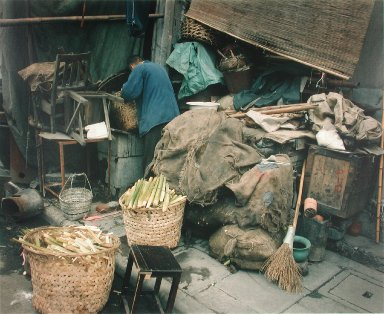 In a Back Alley, Shanghai, from the portfolio Map of the East