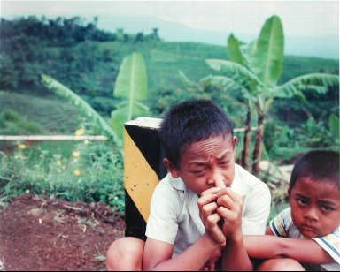 Boys Beside the Road, In the Mountains South of Bandung, from the portfolio Map of the East