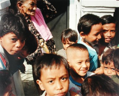 Kampung Children, Jakarta, from the portfolio Map of the East