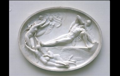 THETIS AND HER NYMPHS RISING FROM THE SEA TO CONSOLE ACHILLES FOR THE LOSS OF PATROCLUS