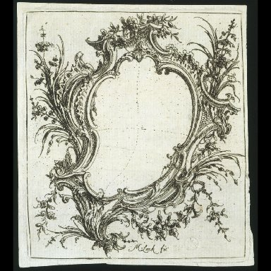 ENGRAVING from 'A Book of Shields'