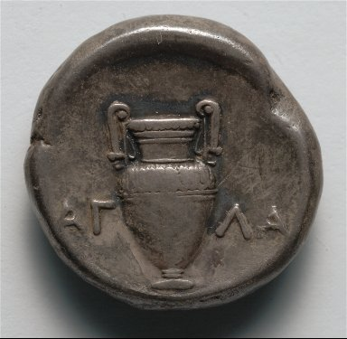 Stater: Amphora in Incuse Circle (reverse)