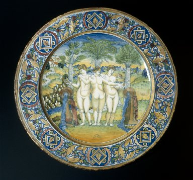 Plate: The Three Graces