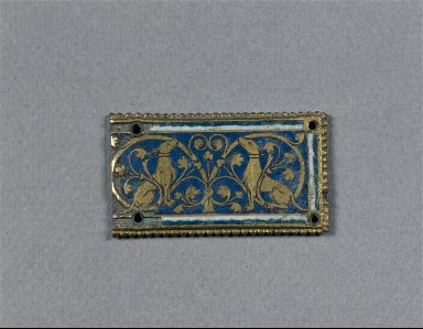 Fragment of a Plaque, probably from a Reliquary Shrine