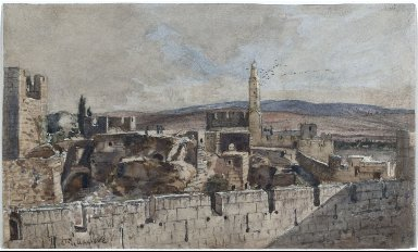 View of the Old City of Jerusalem