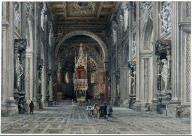 Interior of San Giovanni in Laterano, Rome