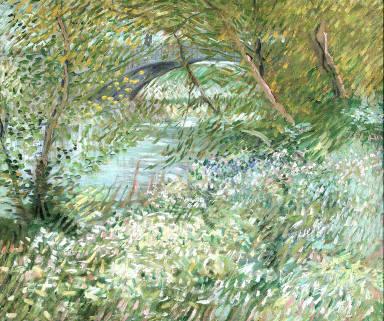 River Bank in Springtime