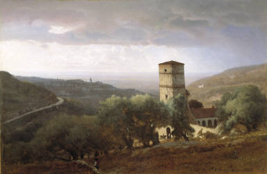 View of Rome from Tivoli