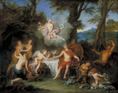 The Alliance of Bacchus and Cupid