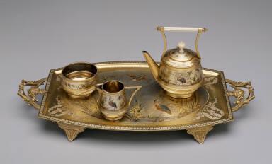 'Pelican Ware' Teapot with Lid