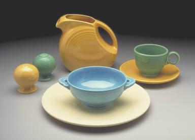 'Fiesta' pattern luncheon plate