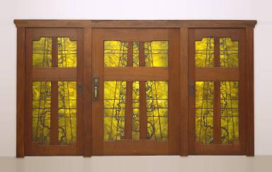Set of front doors from Robert R. Blacker House