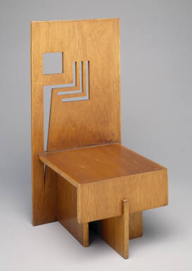 &#034;Trier House&#034; side chair