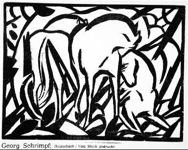[Untitled, 7, no. 10 (1917), page 109, (horses), Der Sturm]