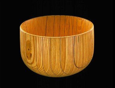 Laminated Birchwood Bowl