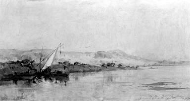 Scene on the Nile