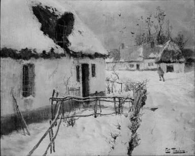 Snow-covered Cottages