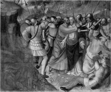 Judas Betraying Christ
