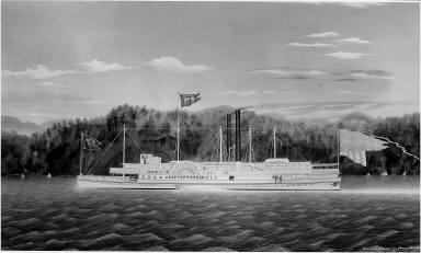 """The Hudson River Steamboat """"Rip van Winkle"""""""
