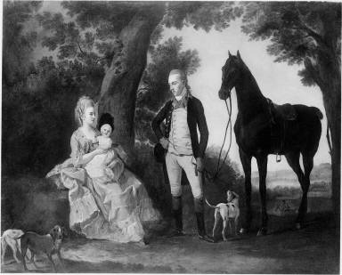 Henry Perkins Weston with his Family