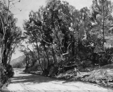 Landscape near Avignon