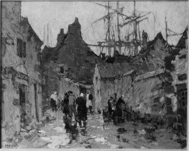 An Old Time Fishing Village