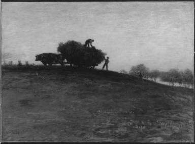Haying by Oxen