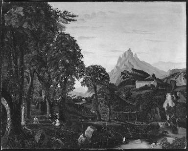 Classical Landscape (after Dream of Arcadia)