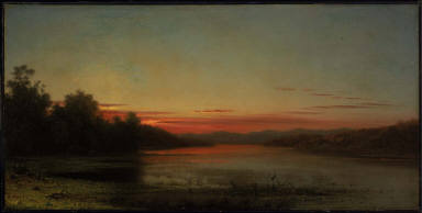 Sunset: Lake Champlain