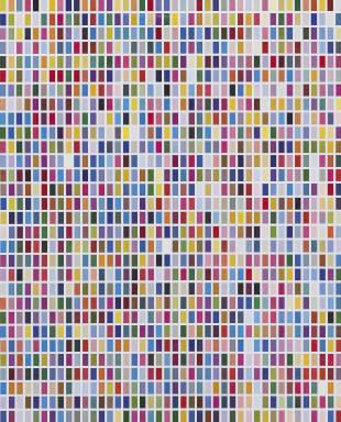 Colorfield: 6 Arrangements of 1260 Colors (Farbfelder. 6 Anordnungen von 1260 Farben)