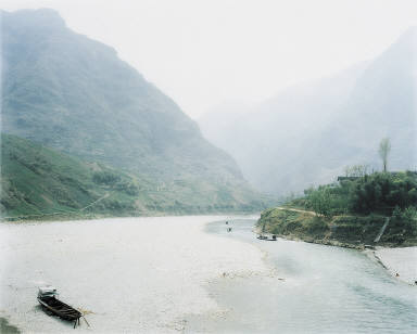 Valley of the Da Ning River, Wuxi, China